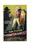 PHANTOM OF THE WEST  Tom Tyler  1931  'Chapter 3: The Horror In the Dark'