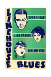 LIMEHOUSE BLUES  US poster  George Raft  Jean Parker  Anna May Wong  1934