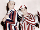HERE COME THE CO-EDS  from left: Bud Abbott  Lou Costello  1945