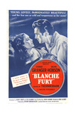 BLANCHE FURY  US poster