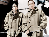 THE GUNS OF NAVARONE  from left: Gregory Peck  David Niven  1961