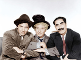 A NIGHT AT THE OPERA  from left: Chico Marx  Harpo Marx  Groucho Marx [The Marx Brothers]  1935