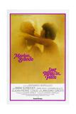 Last Tango in Paris  Marlon Brando  Maria Schneider  US poster  1972
