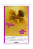 LAST TANGO IN PARIS  US poster  from left: Marlon Brando  Maria Schneider  US poster  1972