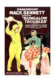 BUNGALOW TROUBLES  from left  Louise Fazenda  Billy Bevan  1920
