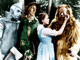THE WIZARD OF OZ  from left: Jack Haley  Ray Bolger  Judy Garland  Bert Lahr  1939