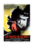 GATES OF THE NIGHT  (aka LES PORTES DE LA NUIT)  French poster  Yves Montand  1946