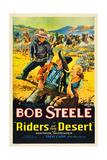 RIDERS OF THE DESERT  Bob Steele  Joe Dominguez  Gertrude Messinger  1932