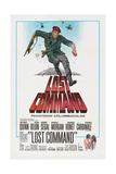 LOST COMMAND  US poster  Anthony Quinn  1966