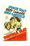 TORTILLA FLAT  from left: Spencer Tracy  John Garfield  Hedy Lamarr  1942