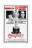 CABARET  US poster  from left: Liza Minnelli  Joel Grey  1972