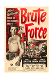 BRUTE FORCE  Burt Lancaster  Yvonne De Carlo  1947