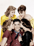 KING CREOLE  Elvis Presley (center)