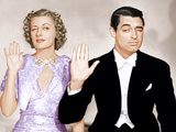 THE AWFUL TRUTH  from left: Irene Dunne  Cary Grant  1937