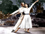 THE BAND WAGON  from left: Fred Astaire  Cyd Charisse  1953