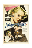 THE PETRIFIED FOREST  top: Bette Davis  bottom from left: Bette Davis  Leslie Howard  1936