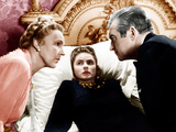 NOTORIOUS  from left: Madame Leopoldine Konstantin  Ingrid Bergman  Claude Rains  1946