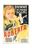 ROBERTA  Irene Dunne  Ginger Rogers  Fred Astaire  1935