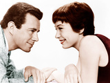 THE TROUBLE WITH HARRY  from left:  John Forsythe  Shirley MacLaine  1955
