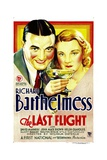 THE LAST FLIGHT  from left: Richard Barthelmess  Helen Chandler  1931