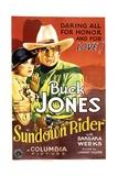 SUNDOWN RIDER  from left: Barbara Weeks  Buck Jones  1932