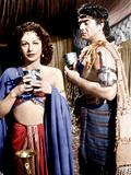 SAMSON AND DELILAH  from left: Hedy Lamarr  Victor Mature  1949