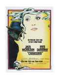 CHINATOWN  Italian poster  from left: Jack Nicholson  Faye Dunaway  1974