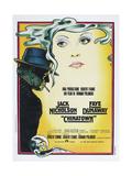 Chinatown  Italian poster  Jack Nicholson  Faye Dunaway  1974