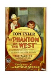 PHANTOM OF THE WEST  left: Tom Tyler in 'Chapter 4: The Battle of the Strong'  1931