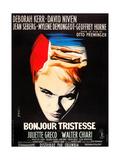 BONJOUR TRISTESSE  French poster art  Jean Seberg  1958