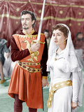IVANHOE  from left: Robert Taylor  Elizabeth Taylor  1952