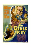 THE GLASS KEY  William Bendix  Veronica Lake  Brian Donlevy  Alan Ladd  1942