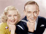 FOLLOW THE FLEET  from left: Ginger Rogers  Fred Astaire  1936
