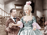HOUSE OF WAX  from left: Vincent Price  Phyllis Kirk  1953