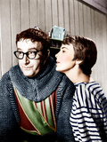 THE MOUSE THAT ROARED  from left: Peter Sellers  Jean Seberg  1959