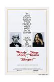 SLEEPER  US poster  Woody Allen  Diane Keaton  1973