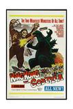 KING KONG VS GODZILLA (aka KINGU KONGU TAI GOJIRA)  US poster  King Kong  Godzilla  1962