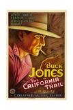 THE CALIFORNIA TRAIL  Buck Jones  1933