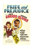 PRIDE AND PREJUDICE  from left: Greer Garson  Laurence Olivier  1940