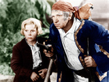 TREASURE ISLAND  from left: Jackie Cooper  Wallace Beery  1934