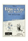 Icy Eyes  Peaches  Felix the Cat on US poster art  1927
