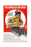 CONQUEST OF THE PLANET OF THE APES  US poster  Don Murray (shackled)  1972