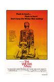 THE WICKER MAN  US poster  from top: Diane Cilento  Christopher Lee  Britt Ekland  1973