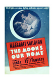 THE MOON'S OUR HOME  US ad art  from left: Margaret Sullavan  Henry Fonda  1936