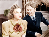 STRIKE UP THE BAND  from left: Judy Garland  Mickey Rooney  1940