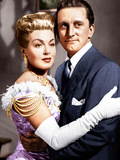 THE BAD AND THE BEAUTIFUL  from left: Lana Turner  Kirk Douglas  1952