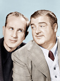 From left: Bud Abbott  Lou Costello)  (aka Abbott & Costello)  ca 1940s