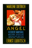 ANGEL  US poster art  from left: Marlene Dietrich  Herbert Marshall  1937