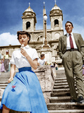 ROMAN HOLIDAY  from left: Audrey Hepburn  Gregory Peck  1953