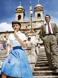 ROMAN HOLIDAY  from left: Audrey Hepburn  Gregory Peck  1953
